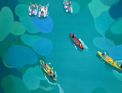 Kayaks & pedalos