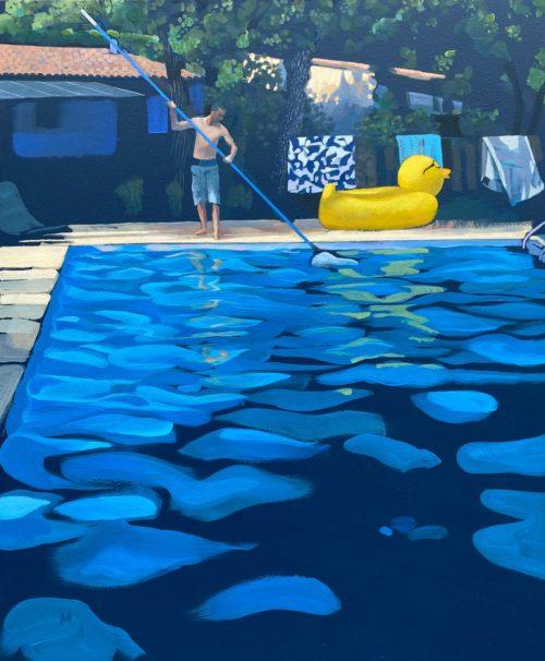 Le piscinier